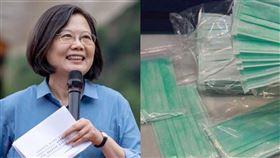 台灣捐千萬口罩是好事?「暗黑疑慮」被點出:不能出問題(組合圖/總統府提供、記者邱榮吉攝)