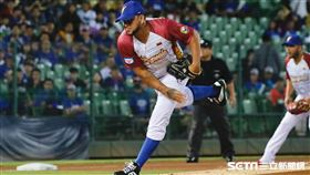 委內瑞拉先發投手Henderson Alvarez。(圖/記者林聖凱攝影)