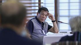 菲律賓總統杜特蒂Rodrigo Duterte。(圖/美聯社/達志影像)
