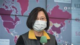 口罩,蔡英文,捐贈,醫護人員,外交,武漢肺炎