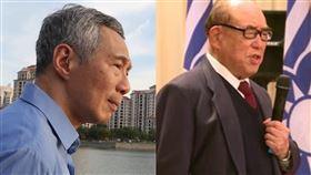 郝柏村逝…新加坡總理李顯龍發文悼念(組合圖/資料照、翻攝臉書)