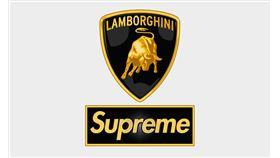 ▲Supreme與Lamborghini推出聯名商品(圖/翻攝自Supreme官網)