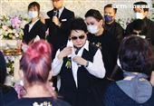 小鳳仙出殯,楊麗花、陳亞蘭、恬娃(圖/記者林聖凱攝影)