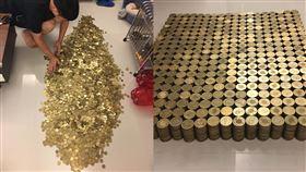 豬公,50元,35.4萬,儲蓄,殺豬公,黃金
