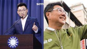 遭批為中國擦脂抹粉…國民黨竟氣炸了:全民需要口罩非口水(組合圖/翻攝臉書、資料照)
