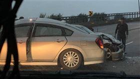車禍,萬里,違規,撞車,事故(圖/翻攝畫面)