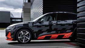 ▲Audi e-tron S四驅電動車。(圖/Audi提供)