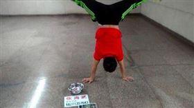 ▲中國體操選手張尚武。(圖/取自微博)