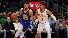 最佳射手是我!楊恩:一年超車柯瑞 NBA,金州勇士,Stephen Curry,亞特蘭大老鷹,Trae Young 翻攝自推特