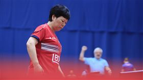 倪夏蓮參加東京奧運時將是58歲。(圖/翻攝自ITTF微博)