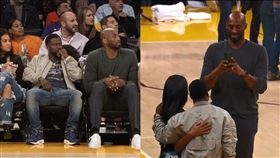 曾和柯比報籃球營 好萊塢巨星憶當年 NBA,洛杉磯湖人,Kobe Bryant,Kevin Hart,籃球營,左手 翻攝自推特