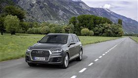 ▲Audi Q7 S line進化版。(圖/Audi提供)