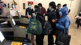 大陸,武漢,車站,解封,漢口,火車(圖/翻攝自澎湃新聞)