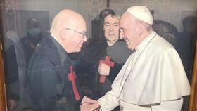 (圖/翻攝畫面)天主教靈醫會,義大利,呂若瑟,神父
