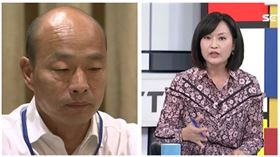 ▲韓國瑜、陳麗娜(組合圖,資料畫面)
