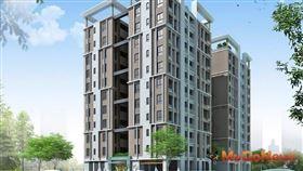 新北市府:板橋江翠段社會住宅計畫即將啟動,圖為板橋江翠段社會住宅構想圖(圖/新北市政府)