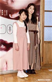 郭書瑤、曾少宗及葛璦出席公視人生劇展《可圈的鞋店》記者會。(圖/記者林聖凱攝影)