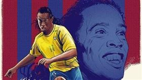 ▲小羅納度(Ronaldinho)。(圖/取自推特)