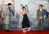 三立網劇「位!你在等我嗎?」演員吳承洋、陳敬宣、江可德。(記者邱榮吉/攝影)