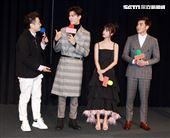 三立網劇「位!你在等我嗎?」演員林埈永、吳承洋、陳敬宣、江可德。(記者邱榮吉/攝影)