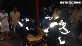 越南籍黎姓男移工被捲入織布機後身亡。(圖/翻攝畫面)