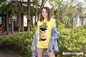 李妍瑾接受三立新聞網專訪。(圖/記者林聖凱攝影)
