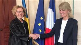 法國,勞動部長,裴尼柯。(圖/翻攝自推特@murielpenicaud )