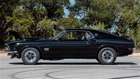 ▲1969年野馬Boss 429 Fastback。(圖/翻攝mecum網站)