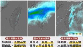「台灣颱風論壇 天氣特急」稍早則是發文寫道【週末天氣驟變,先大雨、後降溫】整個週末都會下雨嗎?趕快來看看最新的天氣資訊吧!