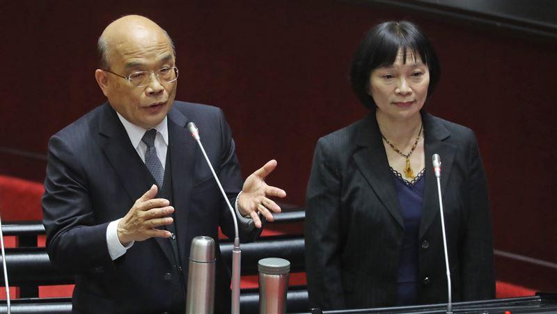 蘇貞昌:一定盡力照顧政治受難者及家屬