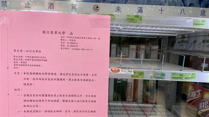 武漢肺炎/東華大學疫情期間禁酒 學生會主張撤回