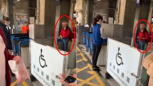 搭火車未戴口罩遭攔!婦咒站務員得病 嗆:問蔡英文我是誰