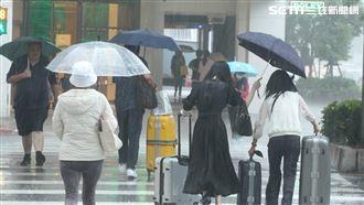 西南風開始增強 致災性豪雨將直撲台
