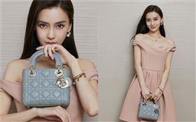 Angelababy(楊穎)為Dior全球品牌大使。(圖/翻攝自微博)