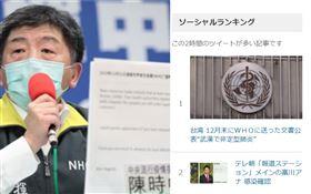 陳時中公布電郵嗆爆WHO!登NHK熱門新聞 日網掀熱議