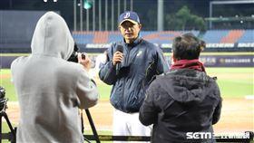 ▲中信兄弟總教練丘昌榮。(圖/記者劉彥池攝影)