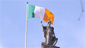 (圖/翻攝自Ireland 2016 YouTube)愛爾蘭,國旗