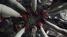官方證實《復仇者4》這幕就是致敬《鋼鐵人》。(圖/《復仇者聯盟4:終局之戰》劇照)