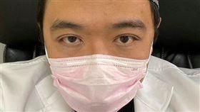粉紅口罩,口罩,邱豑慶,麻的法課 - 邱豑慶醫師 圖/翻攝自麻的法課 - 邱豑慶醫師粉專
