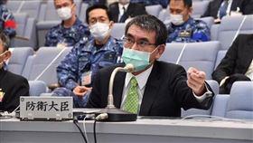 日本防衛大臣河野太郎。(圖/翻攝自河野太郎臉書)