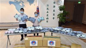 僑委會提供海外僑民10萬口罩