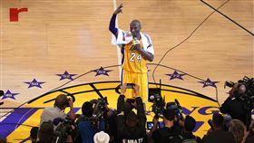 ▲4年前今天,布萊恩(Kobe Bryant)生涯最終戰砍60分。(圖/美聯社/達志影像)