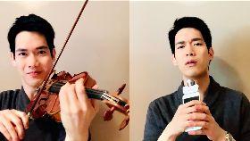 小提琴家林品任演奏又高歌 沖淡疫情緊