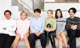 新一季《雙層公寓》三男三女。(圖/翻攝自Netfilx)