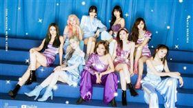 南韓超人氣女團TWICE。(圖/翻攝自微博)