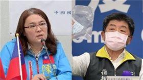 陳玉珍,陳時中(組合圖/資料照)