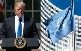 快訊/川普宣布「撤資WHO」!聯合國緩頰:現在不是時候(圖/翻攝自白宮臉書、pixabay)