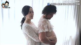 小劍劍換上婚紗陪拍。(圖/小劍劍-務農夫婦x田園日記臉書授權)