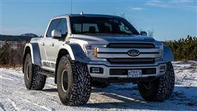 ▲雪地專用Arctic Truck 2020 F-150 AT44。(圖/翻攝Arctic Truck網站)