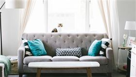 客廳,家,示意圖/翻攝自Pixabay